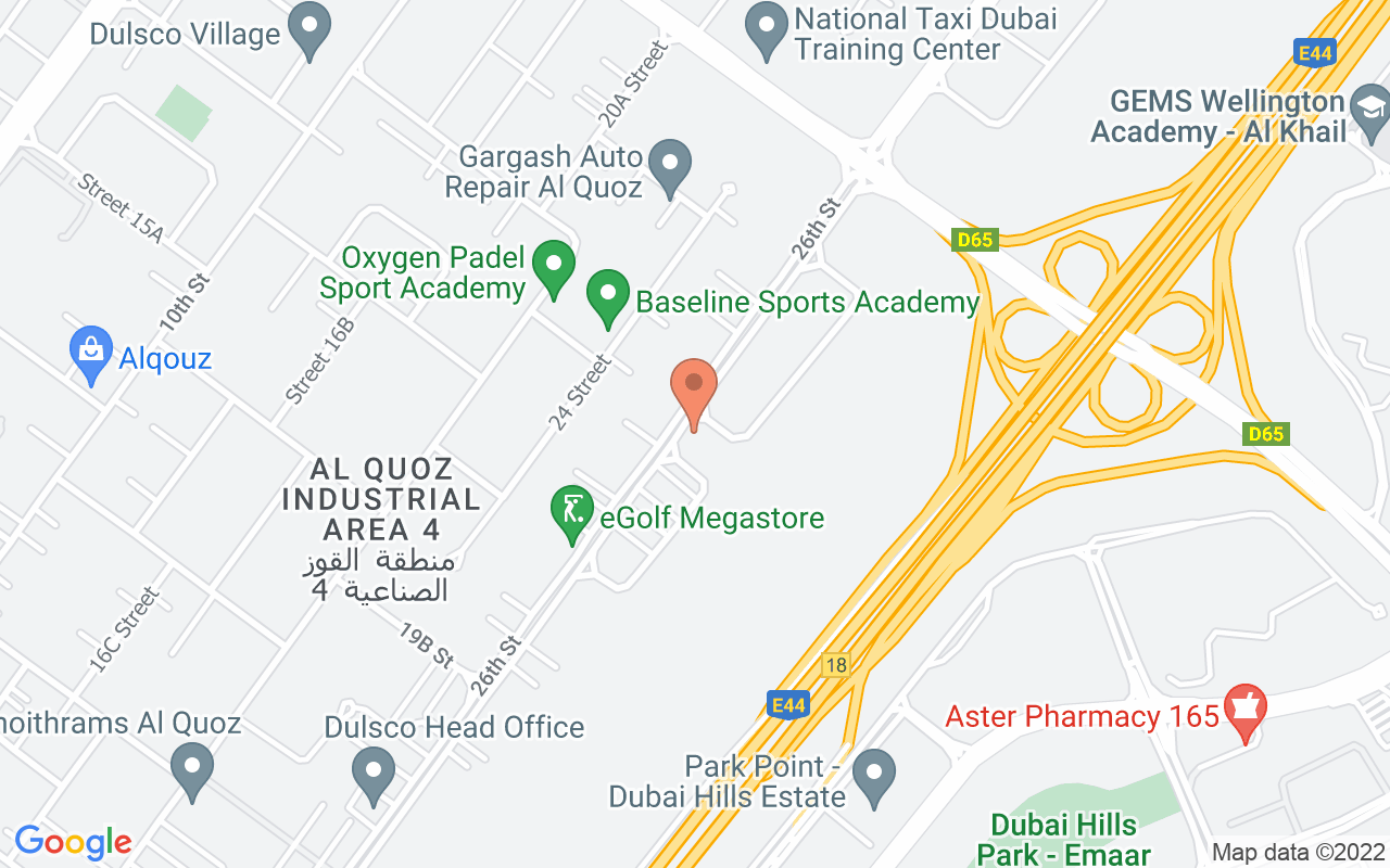 Google Map of 25.1176533,55.2403964